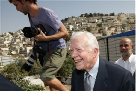 Carter visits Jerusalem Friday