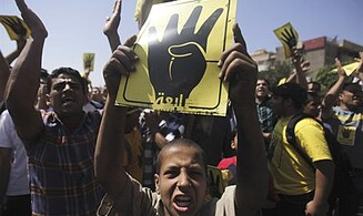 One Killed in Protest in Cairo
