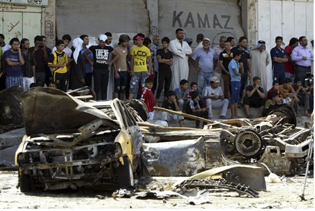 Illustration: Site of Al Qaeda bomb attack in