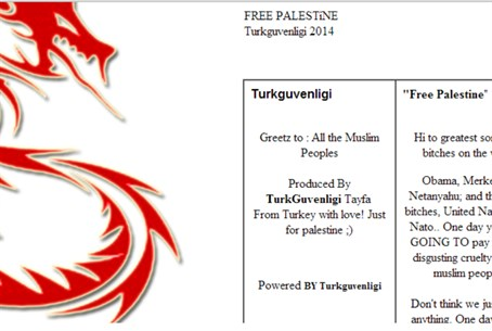 "Turkish hacking group ""Turkguvenligi claimed"