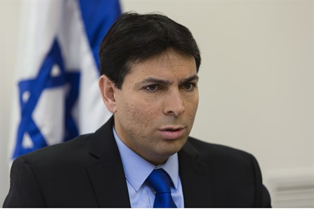 Science, Technology and Space Minister Danny Danon