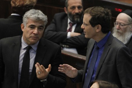 Lapid and Herzog