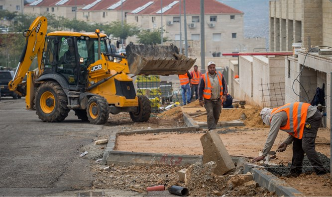 Construction in Beitar Illit