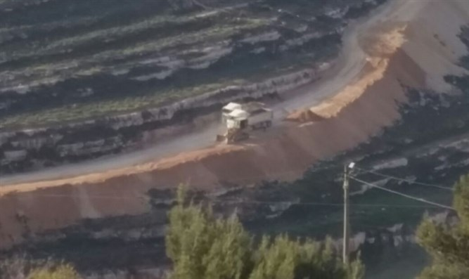 PA pollution near Givat Ze'ev