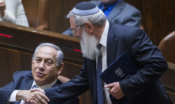 Dahan and Netanyahu