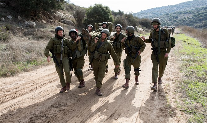 IDF soldiers training (Photo has no connection to story)