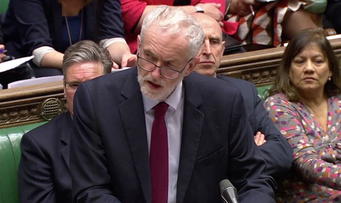 Jeremy Corbyn in Parliament