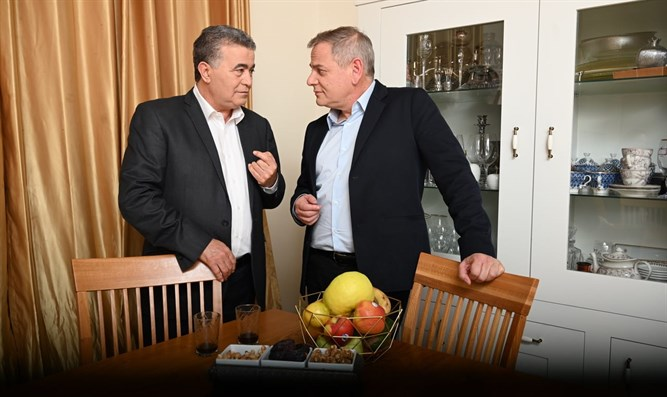Amir Peretz and Nitzan Horowitz