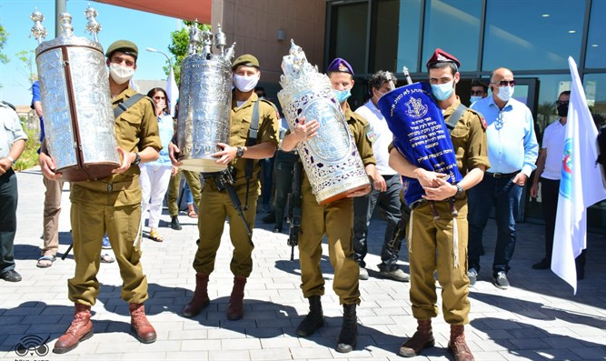 IDF synagogue inaugurated